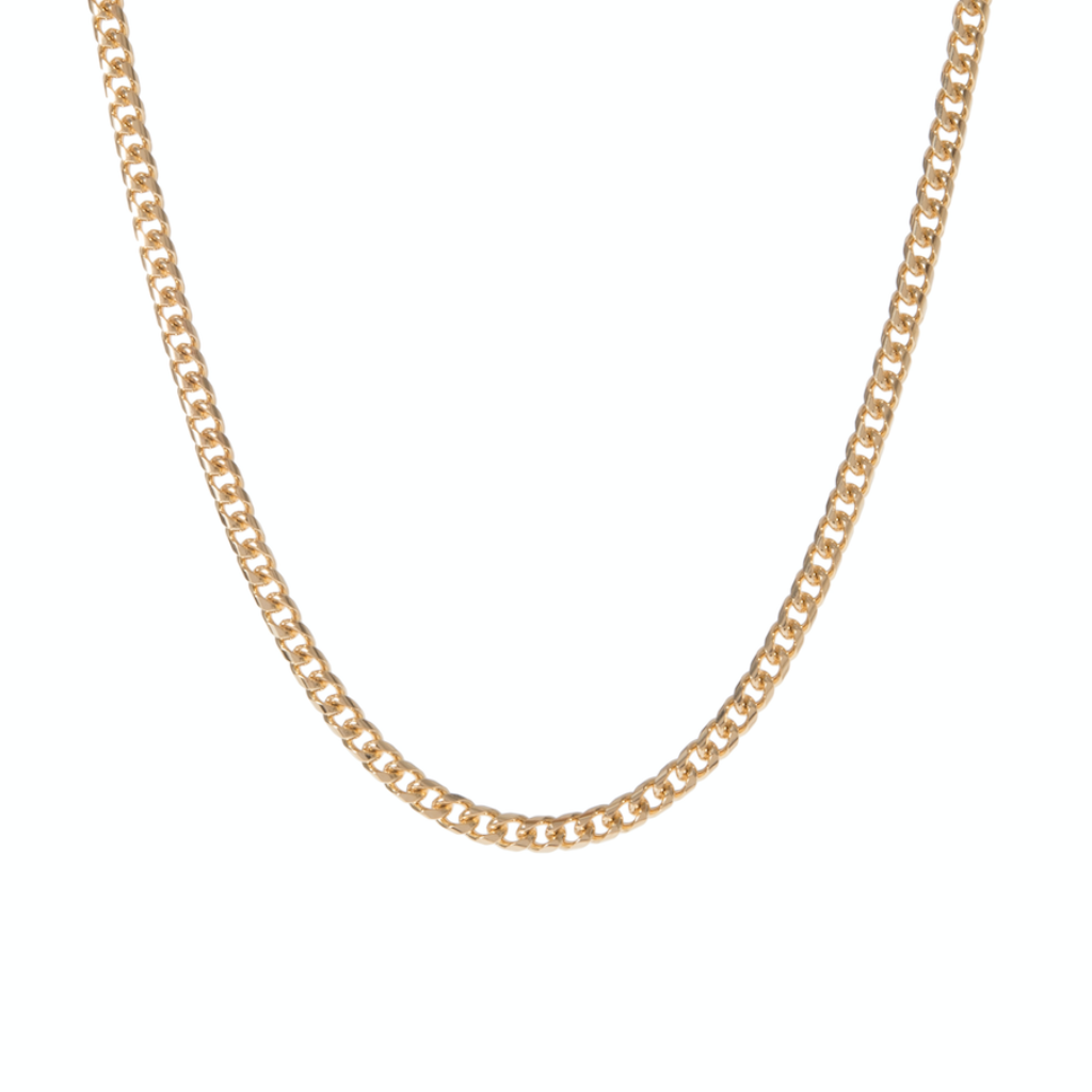 Cuban Curb Chain Necklace