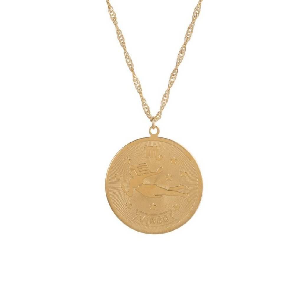 PLANETS & PREDICTIONS NECKLACE - WITH GOLD FILL CHAIN