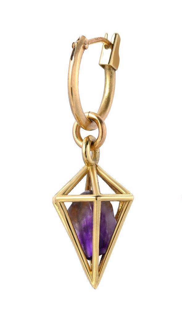 AMETHYST CLARITY AND PROTECTION PENDULUM