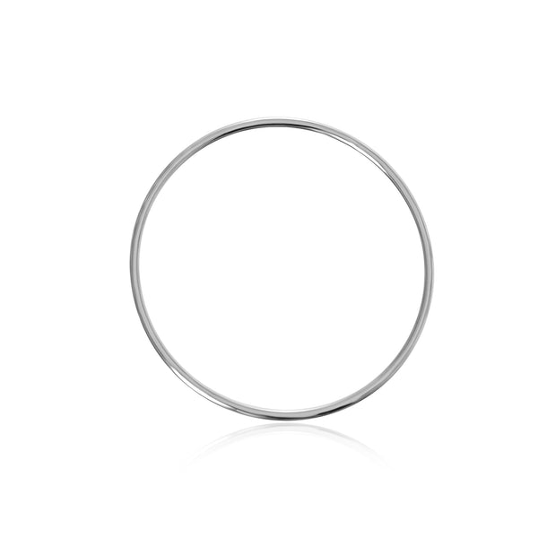 Infinite Bangle - Silver Plated