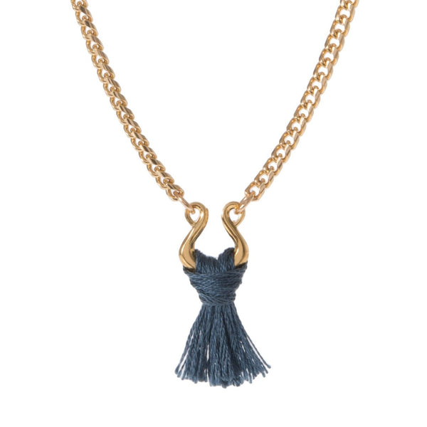 SANTO TASSEL NECKLACE