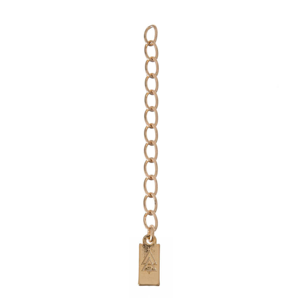 "2"" Extender Chain - 14k GOLD FILL"