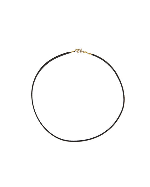 SIMPLE LEATHER CHOKER