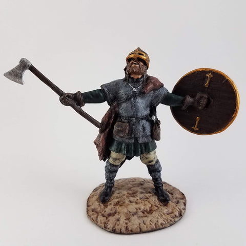 Viking Tin Soldier - Metal Miniatures Hand Painted - Rose and Shadow