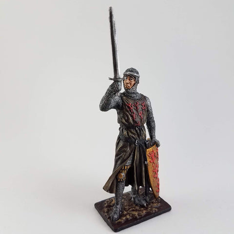 William Longsword Tin Soldier - Metal Miniature Hand Painted - Rose and Shadow