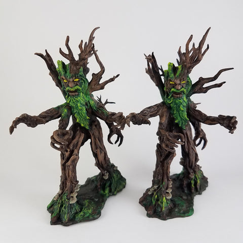 Treant Guardians - D&D Miniatures Hand Painted - Rose and Shadow