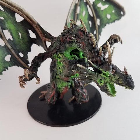 Dracolich Miniature - Rissa Whalen - Rose and Shadow