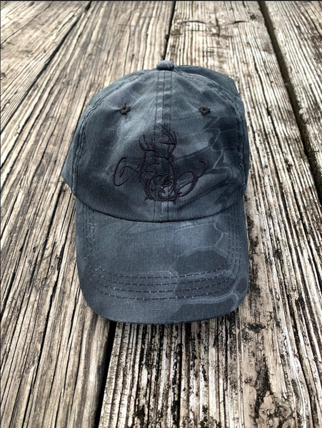 Logo Black Kryptek Hat