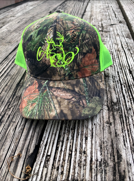 Logo Yellow-Green Mesh Hat