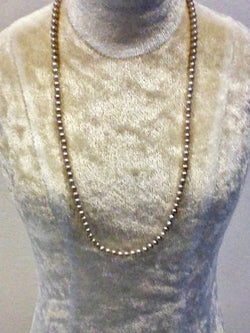 Bead Pearl Necklace (3)