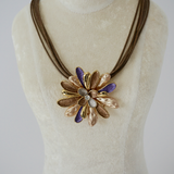 Elegant Flower String Necklace
