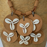 Brown Tribal Necklace