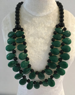 Jade and Onyx Necklace (1)