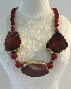 Red Agate Necklace