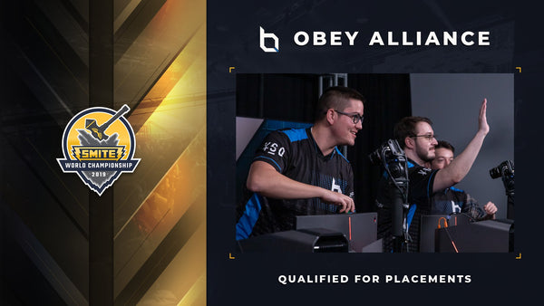 OBEY SMITEPRO QUALIFIES FOR PLACEMENT STAGES