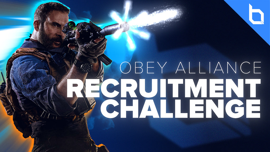 Obey Recruitment Challenge is LIVE!