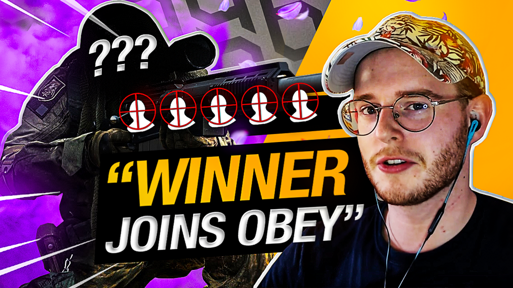 The BEST modern Warfare Snipers CLIP RACE! (Winner Joins Obey) ft. xWASDMitch
