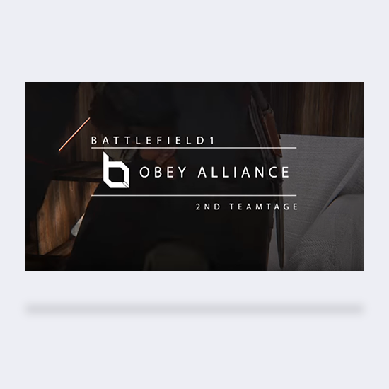 Obey: Battlefield 1 Teamtage #2