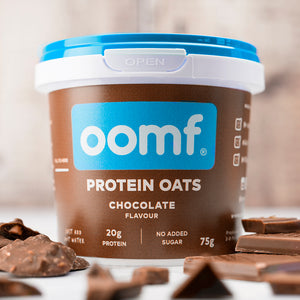 OOMF! Protein Oats - Chocolate (8 Pots)