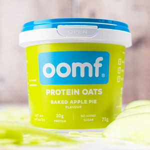 OOMF! Protein Oats - Baked Apple Pie (8 Pots)