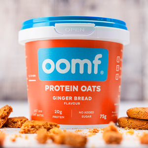 OOMF! Protein Oats - Gingerbread (8 Pots)