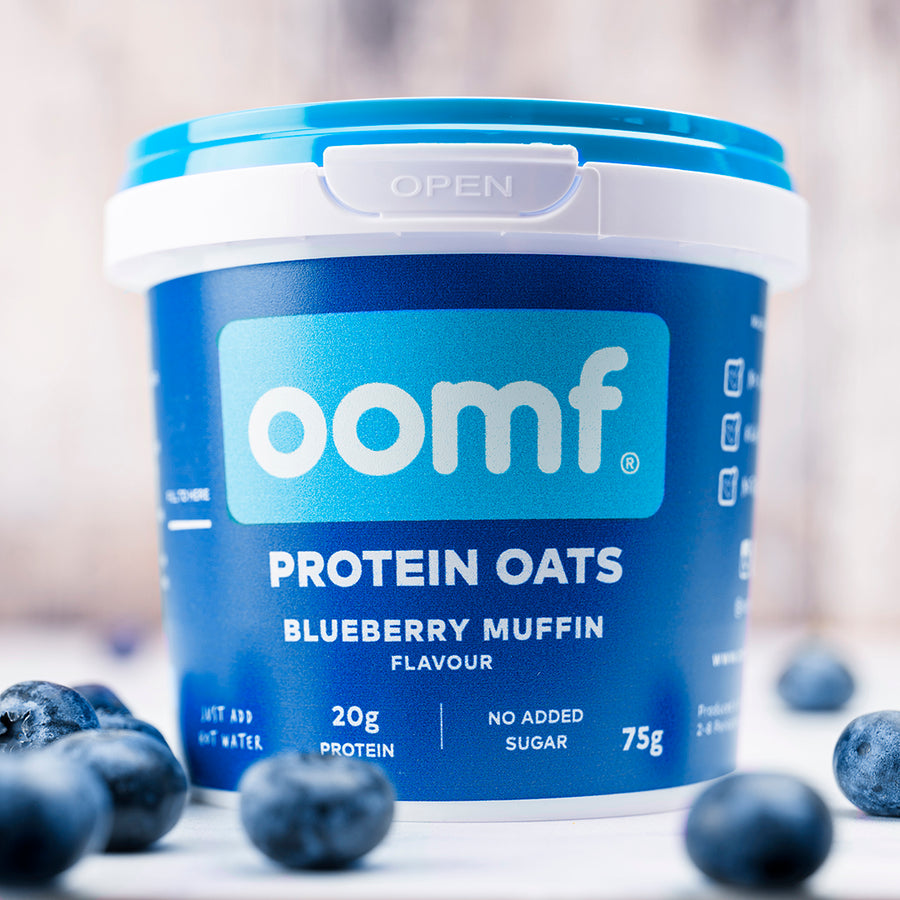 OOMF! Protein Oats - Blueberry Muffin (8 Pots)
