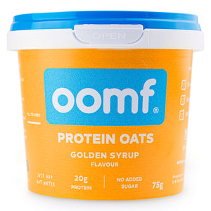 OOMF! Protein Oats - Golden Syrup (8 Pots)
