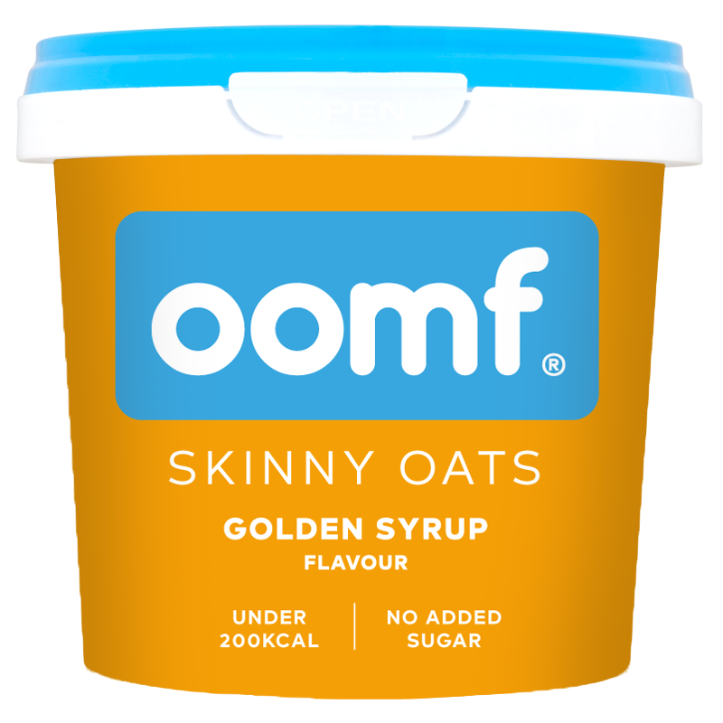 OOMF! Skinny Oats - Golden Syrup (8 Pots)