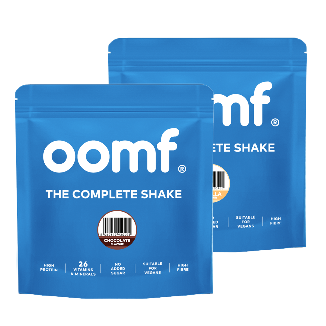 The Complete Shake - Double Pack in Chocolate & Vanilla
