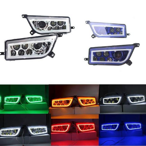 LED HEADLIGHT KIT FOR ATV, UTV, RZR