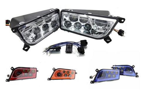 LED HEADLIGHT KIT FOR ATV, UTV, RZR, POLARIS