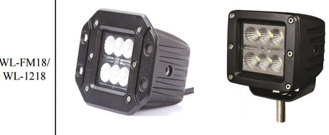 "LED POWER: 3""-18W"