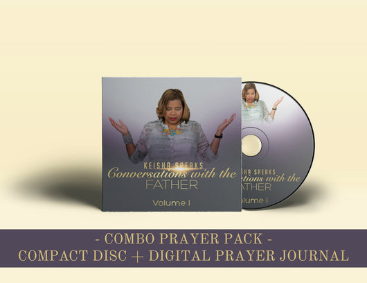 Conversations with the Father - Compact Disc + Digital Prayer Journal