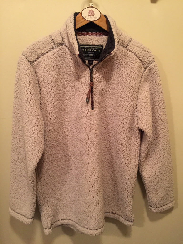 True Grit Soft Sherpa Pull Over