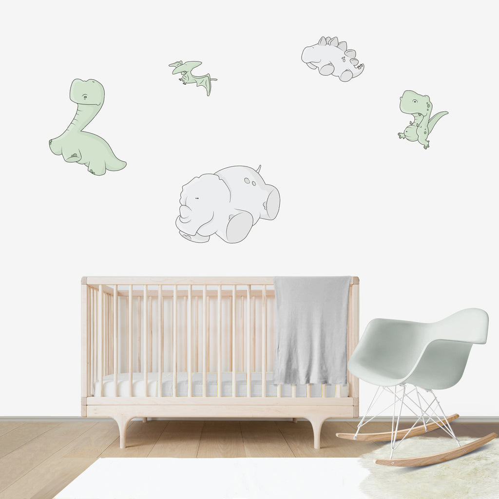 Dinosaurs Weightless Large Wall Decal For Kidsu0027 Room Wall Vinyl, Kid Room  Design Ideas