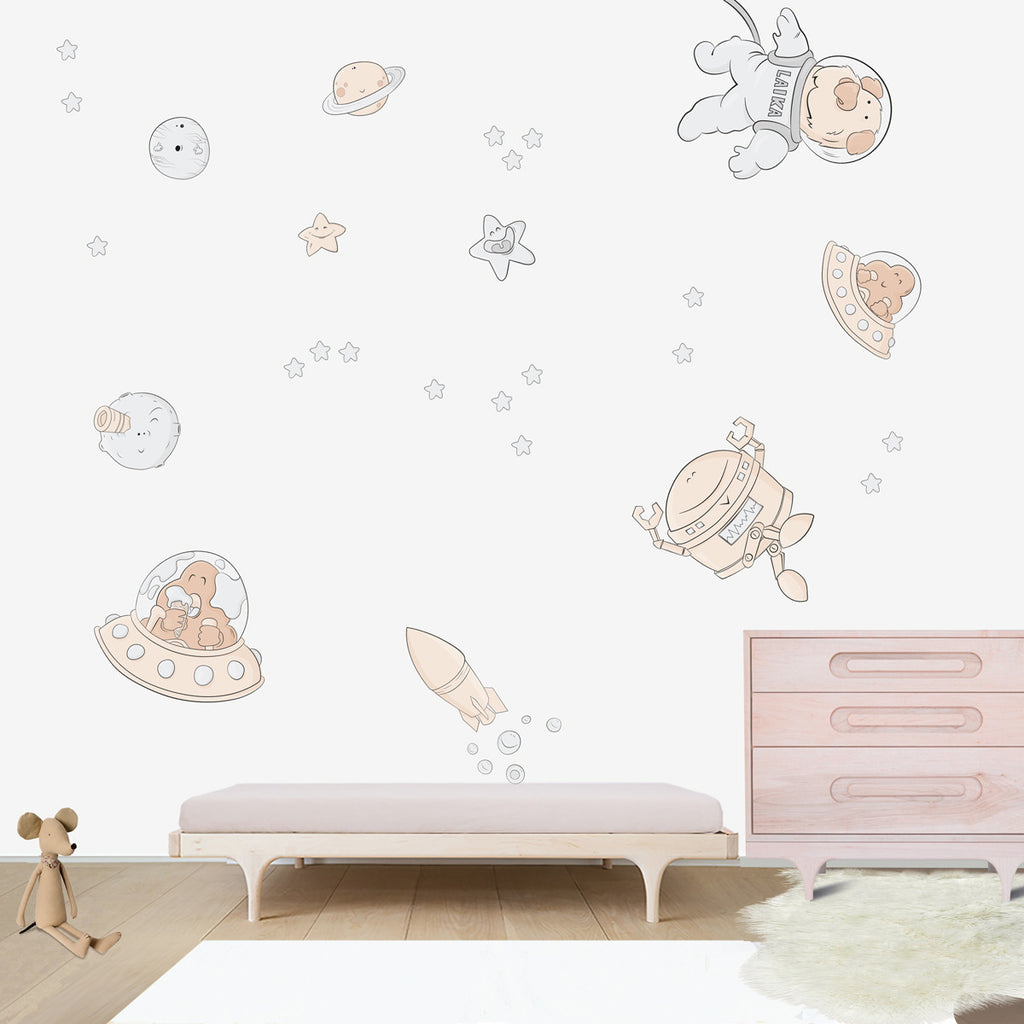 Space Oddity Large Wall Decal For Kidsu0027 Room Wall Vinyl, Kid Room Design  Ideas Part 60