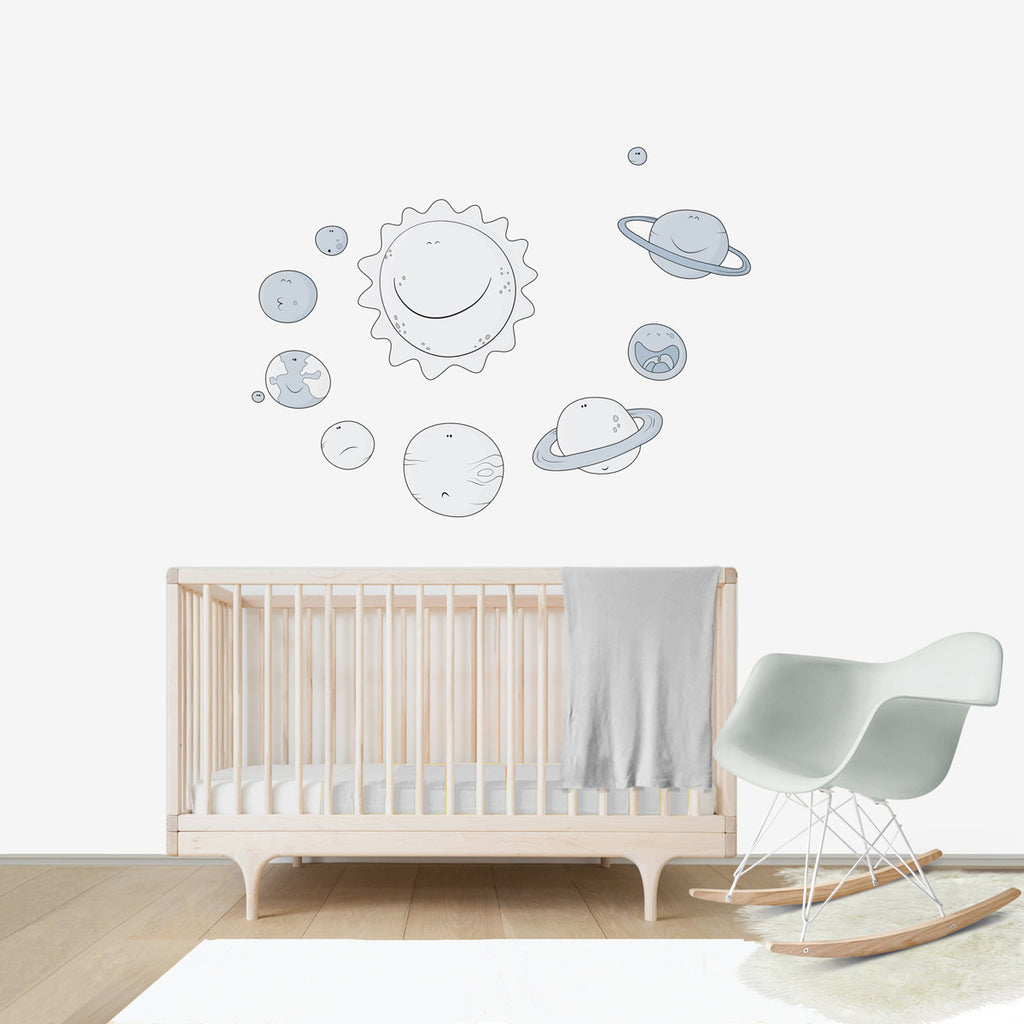 Solar System Wall Stickers - Home Design