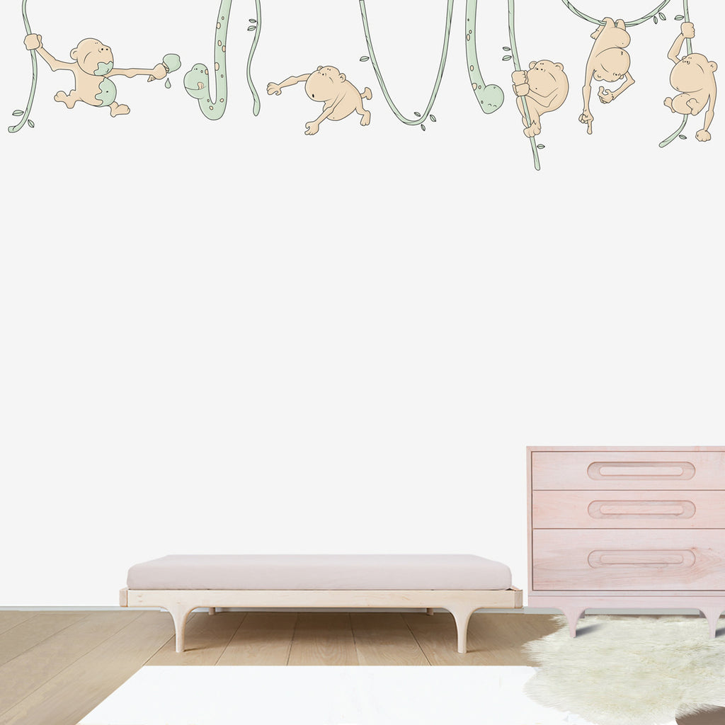Fun in the jungle wall decal for kids room bubbles and bubbles wall decal for kids room previous next amipublicfo Gallery