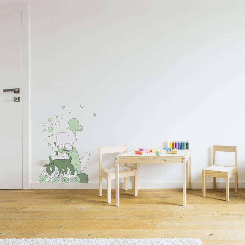 COOKING SOME FUN | Wall decal for schools