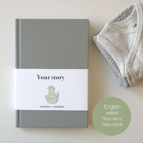 YOUR STORY  | Baby book | Journal and album