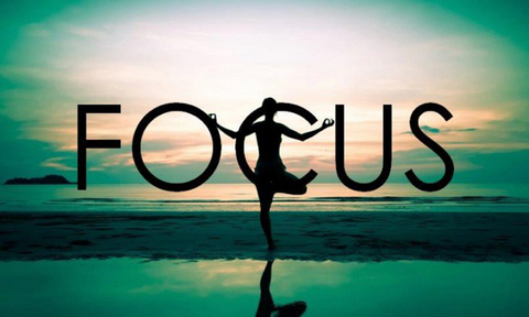 focus with yoga