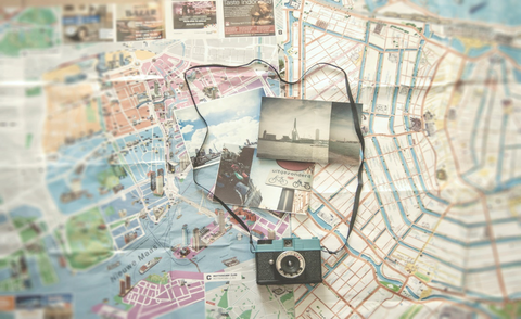maps and photography