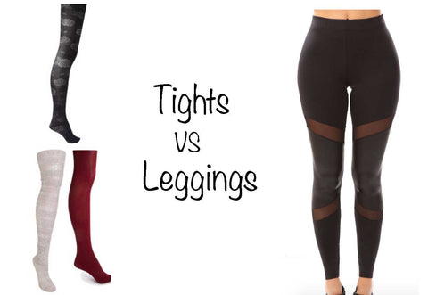tights versus leggings