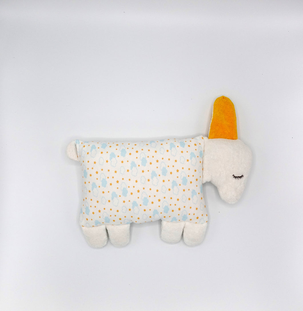Organic Cotton Baby Pillow Toy
