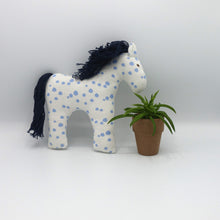 Load image into Gallery viewer, Organic Cotton Horse Baby Toy