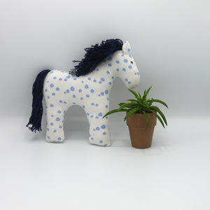 Organic Cotton Horse Baby Toy