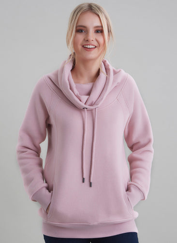 Rose Organic Cotton Sweatshirt