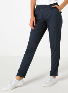 Navy Tencel Pants