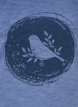 Load image into Gallery viewer, Bird Print Dyed T-Shirt