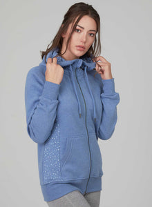 Organic Cotton Hooded Sweat Jacket